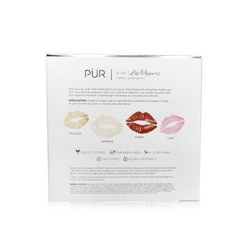 4 In 1 Lip Toppers Glitter Lip Enhancer Kit (4x Lip Topper)  40ml/1.32oz