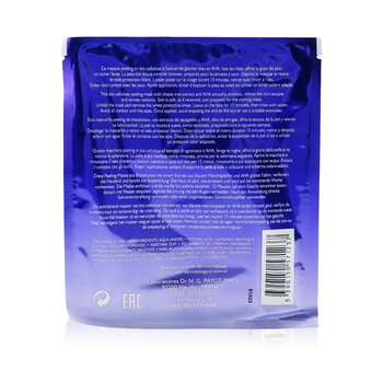 Blue Techni Liss Week-End Chrono-Renewing Peel Mask (Unboxed)  10pcs