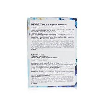 Kit Drench & De-Tox 2-Piece: Hidratante 20ml + Cucumber Parches de Ojos 15 pares  2pcs
