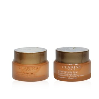 Extra-Firming Partners (All Skin Types): Firming Day Cream 50ml/1.7oz+ Firming Night Cream 50ml/1.7oz  2pcs