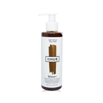 Gloss+ Semi-Permanent Hair Color and Deep Conditioner - # Light Brown 192ml/6.5oz