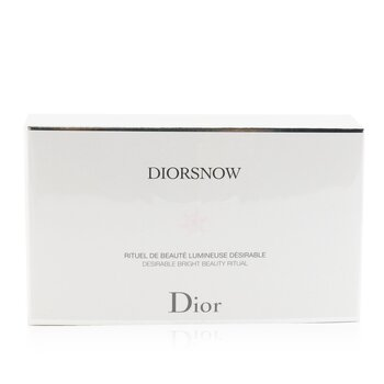 Diorsnow Brightening Collection: Milk Serum 30ml+ Micro-Infused Lotion 50ml+ UV Protection Fluid SPF50 30ml+ Pouch  3pcs+1pouch