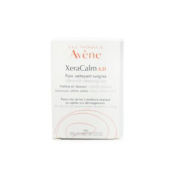 XeraCalm A.D Ultra-Rich Cleansing Bar - For Very Dry Skin Prone to Atopic Dermatitis or Itching  100g/3.5oz