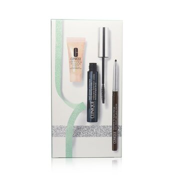 Lash Power Mascara Set (1x Mascara, 1x Quickliner For Eye Intense,1x Moisture Surge Eye Hydro Filler Concentrate)  3pcs