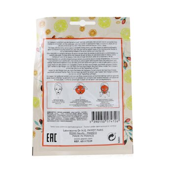 Morning Mask (Hangover) - Detox & Radiance Sheet Mask  15pcs