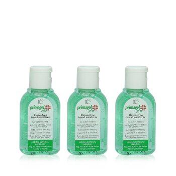 Rinse-Free Hand Sanitizer Trio Pack  3x50ml/1.7oz