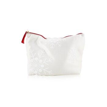 Eau Ressourcante Coffret: Fragrance Spray 100ml/3.3oz + Silky-Smooth Body Cream 100ml/3.2oz + Exfoliating Body Scrub For Smooth Skin 30ml/1oz + Pouch  3pcs+Pouch