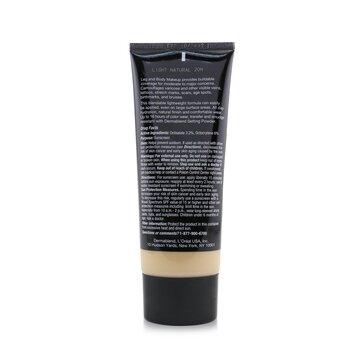 Leg and Body Make Up Buildable Liquid Body Foundation Sunscreen Broad Spectrum SPF 25  100ml/3.4oz