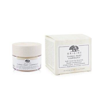 Three Part Harmony Soft Cream For Renewal, Repair & Radiance  50ml/1.7oz