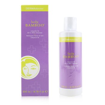 Lucky Bamboo Jukyeom 9x Oil To Milk Cleanser  200ml/6.76oz
