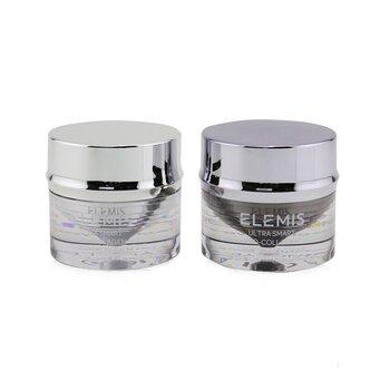 Ultra Smart Pro-Collagen Day & Night Eye Treatment Duo (1x Morning Eye Balm, 1x Evening Eye Cream, 1x Eye Tool)  2x10ml/0.3oz