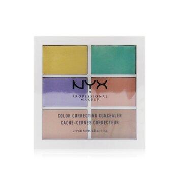 Color Correcting Palette (Conceal, Correct, Contour) 6x1.5g/0.05oz