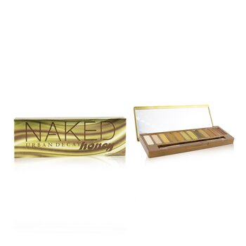 Naked Honey Eyeshadow Palette (12x Eyeshadow, 1x Doubled Ended Smudger/ Tapered Crease Brush)  1pc