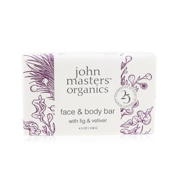 Face & Body Bar With Fig & Vetiver  128g/4.5oz