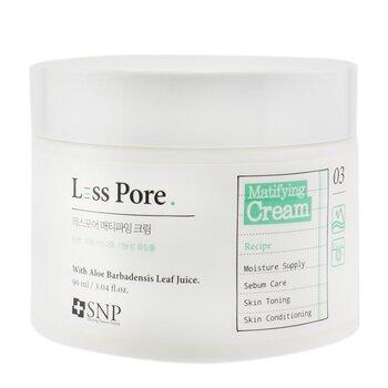 SNP Less Pore Matifying Cream (Exp. Date 12/2020) 90ml/3.04oz