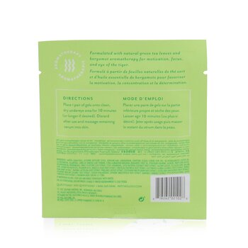 Moodpatch - Perk Up Energizing Tea-Infused Aromatherapy Eye Gels (Green Tea+Bergamot+White Mulberry)  5pairs