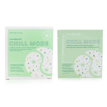Moodpatch - Chill Mode Soothing Cannabis Seed Oil-Infused Eye Gels (Cannabis Sativa Seed Oil+Reishi & Rhodiola Extract)  5pairs
