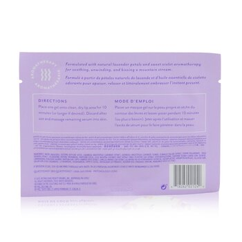 Moodpatch - Keep Smiling Soothing Tea-Infused Aromatherapy Lip Gels (Sweet Violet+Lavender+Coconut Extract)  5pcs