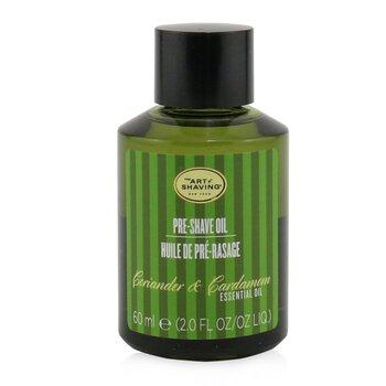 Pre Shave Oil - Coriander & Cardamom Essential Oil  60ml/2oz