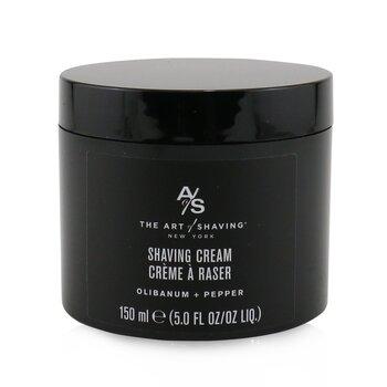 Shaving Cream - Olibanum + Pepper  150ml/5oz