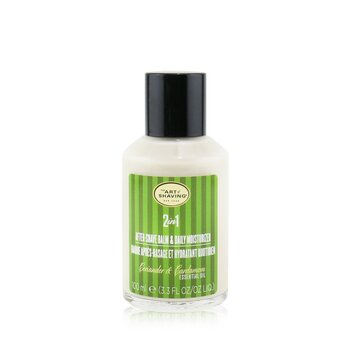 2 In 1 After-Shave Balm & Daily Moisturizer - Coriander & Cardamom Essential Oil (Limited Edition)  100ml/3.3oz