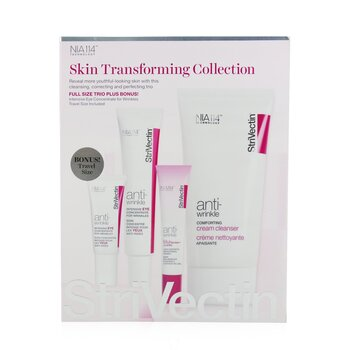Skin Transforming Collection (Full Size Trio):  Cleanser 150ml + Eye Concentrate (30ml+7ml) + Eyes Primer 10ml  4pcs