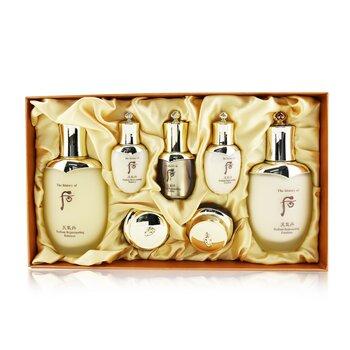 Cheongidan Radiant Special Set: Balancer (150ml + 25ml), Emulsion (110ml + 25ml), Essence 8ml. Cream 10ml, Eye Cream 5ml  7pcs