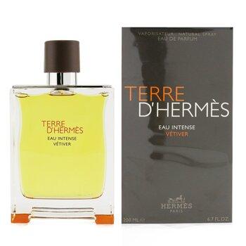 Terre D'Hermes Eau Intense Vetiver Eau De Parfum Spray  200ml/6.7oz