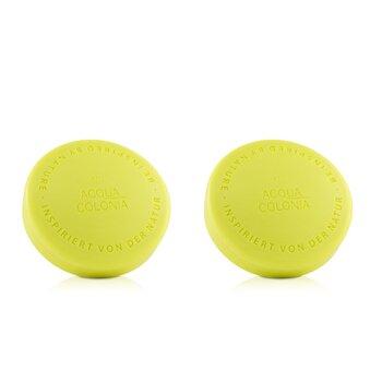Acqua Colonia Lime & Nutmeg Aroma Soap Duo  2x100g/3.5oz