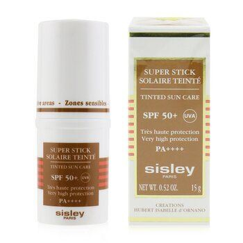 Super Stick SPF 50+ UVA Tinted Sun Care (Very High Protection & Very Water Resistant)  15g/0.52oz
