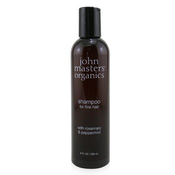 Shampoo For Fine Hair with Rosemary & Peppermint  236ml/8oz