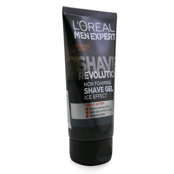 Men Expert Shave Revolution Non Foaming Shave Gel (Ice Effect)  150ml/5.29oz