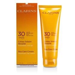 Clarins Sun Care High Protection napvédő krém SPF30 ( napérzékeny bőrre )  125ml/4.4oz