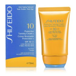 Shiseido Protective Tanning Cream N SPF 10 (For Face)  50ml/1.7oz