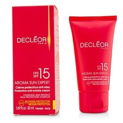 Decleor Aroma Sun Expert Protective Anti-Wrinkle Cream Medium Protection SPF 15  50ml/1.69oz