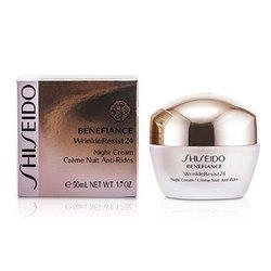 Shiseido Przeciwzmarszczkowy krem na noc Benefiance WrinkleResist24 Night Cream  50ml/1.7oz