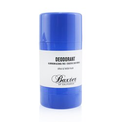 Baxter Of California Deodorant - Alcohol Free (Sensitive Skin Formula)  75g/2.65oz