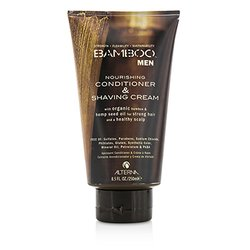 Alterna Bamboo Men Nourishing Conditioner & Shaving Cream  250ml/8.5oz
