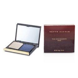 Kevyn Aucoin La Sombra de Ojos Duo - # 206 Taupe Shimmer/ Blackened Blue Shimmer  4.8g/0.16oz