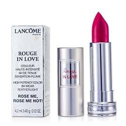 Lancome Rouge In Love Lipstick - # 375N Rose Me, Rose Me Not!  4.2ml/0.12oz