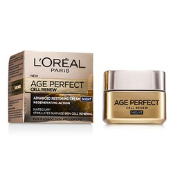 L'Oreal Age Perfect Cell Renew Advanced Restoring Night Cream  50ml/1.7oz