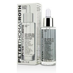 Peter Thomas Roth Oilless Oil 100% Purified Squalane Moisturizing Lightweight Skin Softener  30ml/1oz