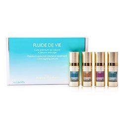 Methode Jeanne Piaubert Fluide De Vie - Premium Сезонний Інтенсивний Засіб (Антивікова Сироватка)  4x11ml/0.36oz