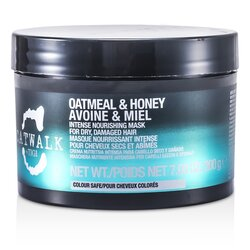 Tigi Catwalk Oatmeal & Honey Intense Nourishing Mask (For Dry, Damaged Hair)  200g/7.05oz