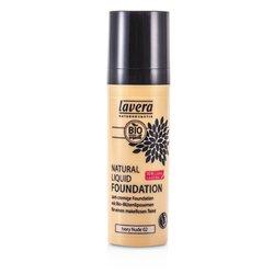 Lavera Natural Liquid Foundation (10H Long Lasting) - # 02 Ivory Nude  30ml/1oz