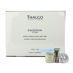 Thalgo Exception Ultime Ultimate Time Solution Ritual - Anti Age Treatment Protocol (Salon Product)  6 Treatments