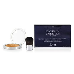 Christian Dior Diorskin Nude Tan Nude Extra Matte Sun Powder (With Kabuki Brush) - # 003 Matte Cinnamon  10g/0.35oz