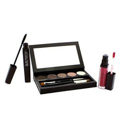 Laura Mercier Nude Smoky Eye Palette Collection (1xMascara, 1xLip Glace, 1xCake Eye Liner, 4xEye Colour, 3xBrush)  10pcs