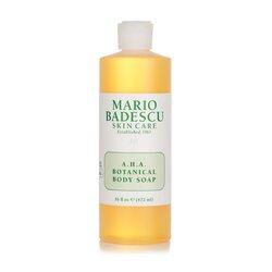 Mario Badescu A.H.A. Botanical Body Soap - For All Skin Types  472ml/16oz