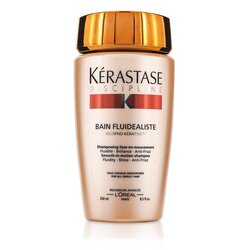 Kerastase Discipline Bain Fluidealiste Smooth-In-Motion Shampoo (For All Unruly Hair)  250ml/8.5oz